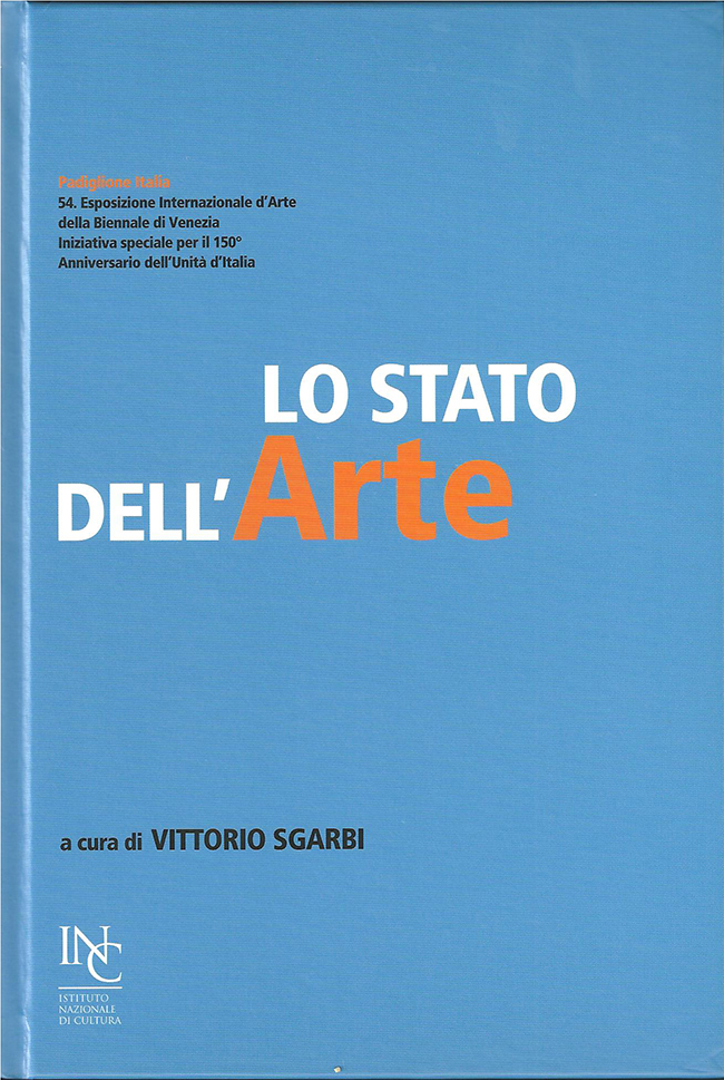 Vittorio Sgarbi - Catalogo Biennale Venezia Torino - Osvaldo Moi
